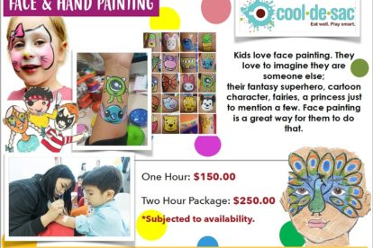Cool de Sac - Face Painting