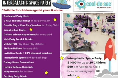 Cool de Sac - Intergalactic Space Party 1