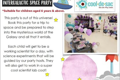Cool de Sac - Intergalactic Space Party 2