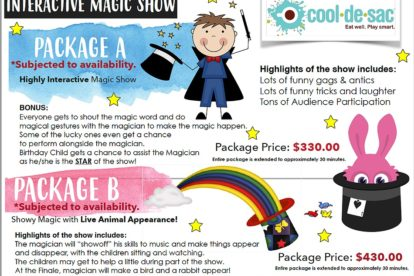 Cool de Sac - Magic Show