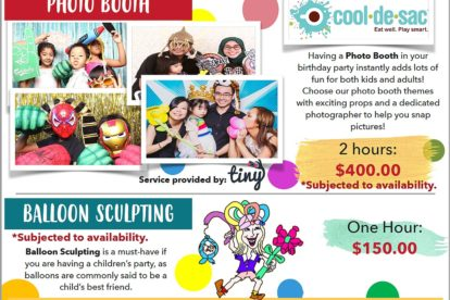 Cool de Sac - Photo Booth