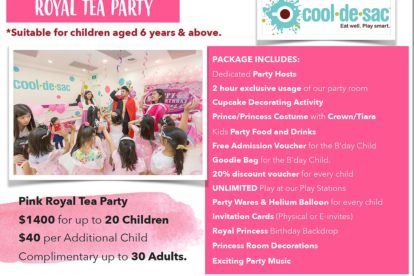 Cool de Sac - Royal Tea Party 2