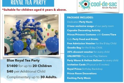 Cool de Sac - Royal Tea Party 3