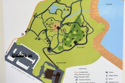 Hindhede Quarry Map