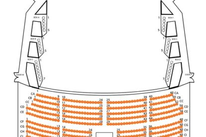 Kallang Theatre Circle Seating Plan