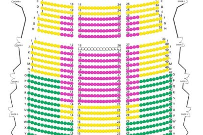 Kallang Theatre Stalls Seating Plan