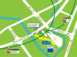 NEWater Visitor Centre Map