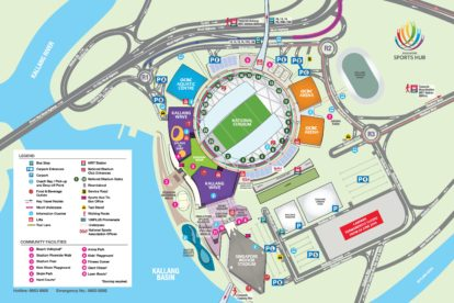Sportshub Venue Map