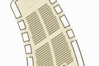 The Star Gallery Seating Plan