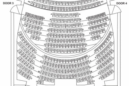 Victoria Theatre Seating Plan Stalls