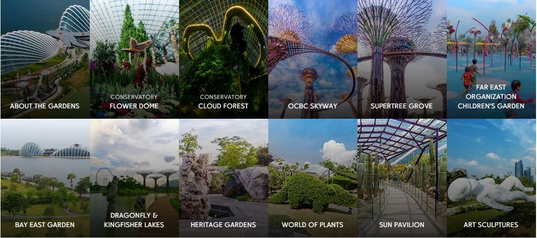 Gardens by the Bay Singapore - MRT, Light Show & Ticket Price