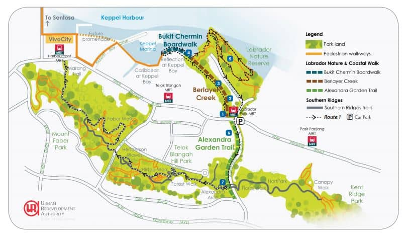 to get here get off at labrador park mrt station - Garden By The Bay Mrt Station