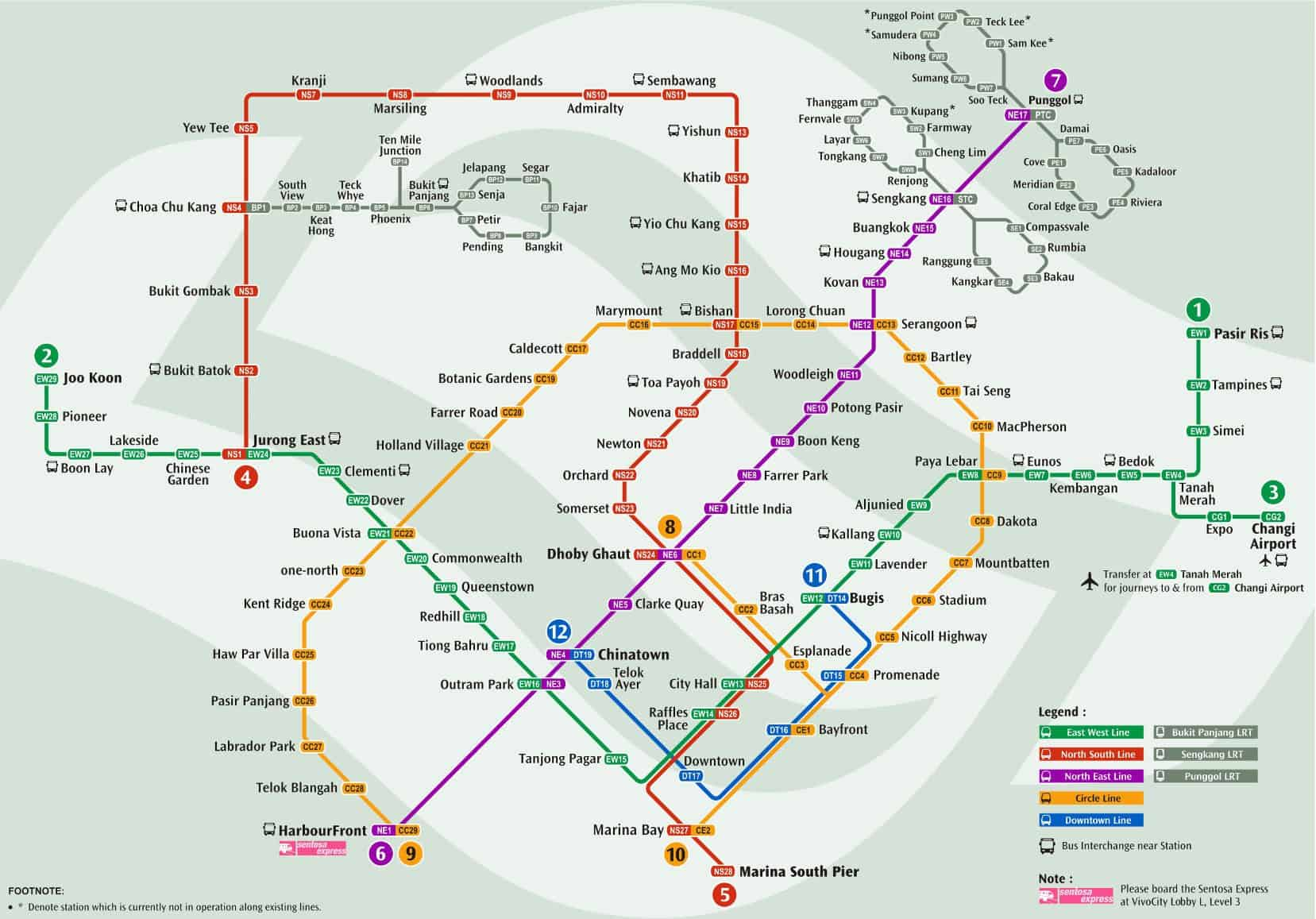 Singapore mrt ticket prices & fares, maps & routes.