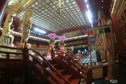 Buddha tooth Relic temple and museum 00065