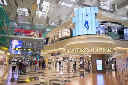 Duty Free at Singapore Changi Airport 01