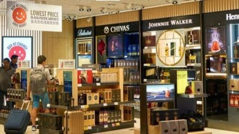 Duty Free At Singapore Changi Airport