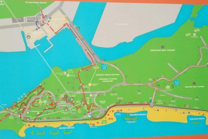 Getting to Sentosa Island-01