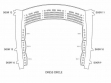 Grand Theatre Seating Plan - Dress Circle