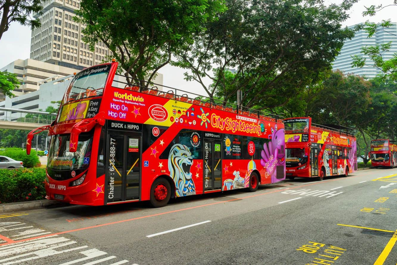 Singapore Hop-on-Hop-off Bus 01