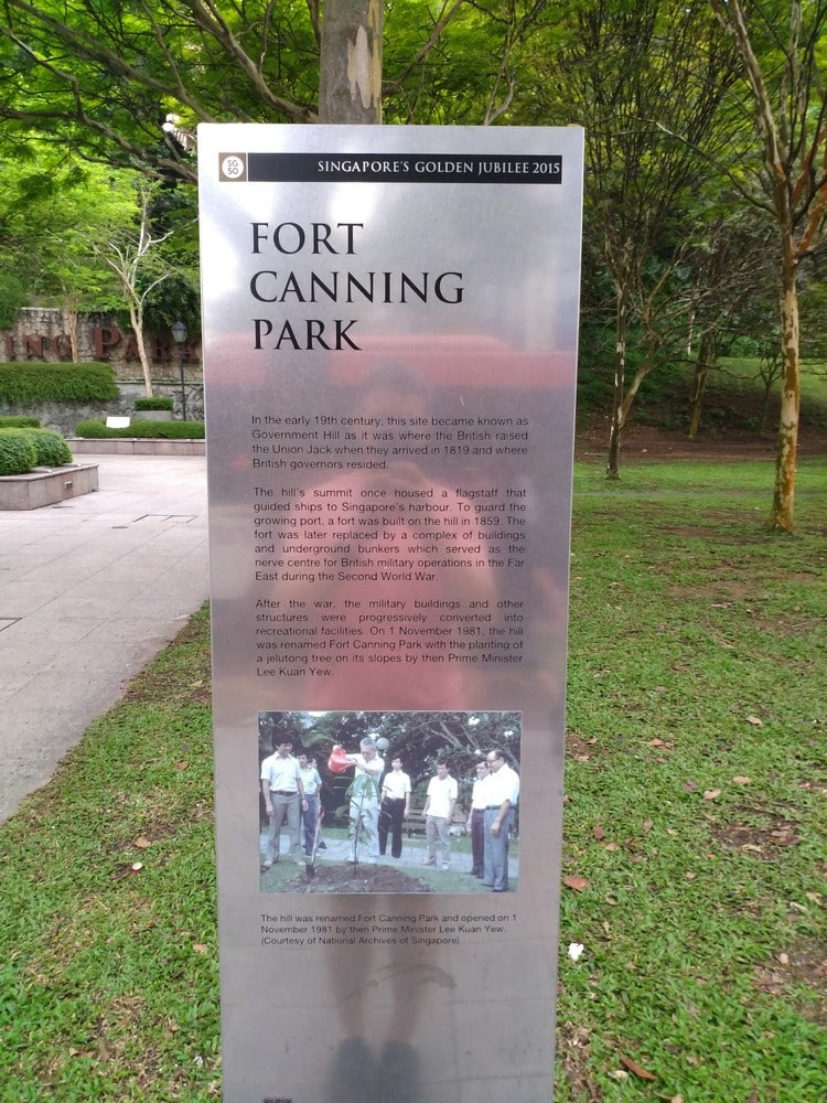 Fort Canning Park 06