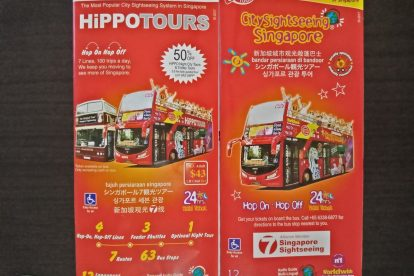 Singapore Hop On Hop Off Bus 01