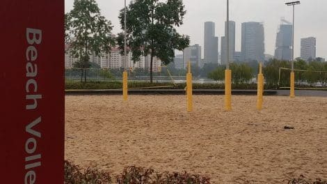 Sports Hub Beach Volleyball Courts