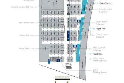 Sands Expo and Convention Center - Foyer Level 4