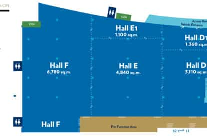 Sands Expo and Convention Center - Halls B2