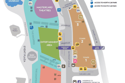 Sands Expo and Convention Center Map